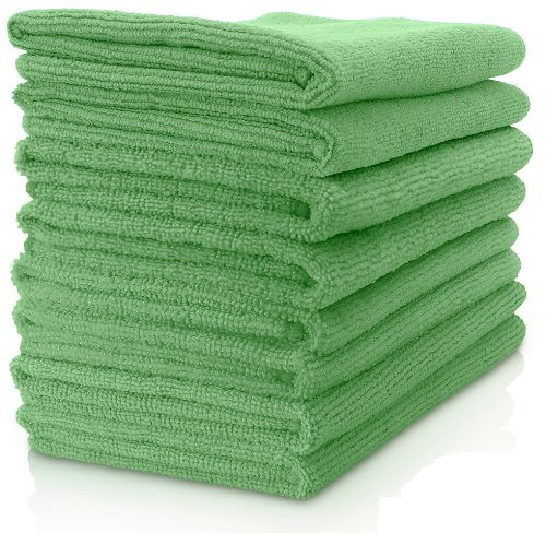 "Microfiber General Cleaning Cloth - 15x15"" - Green"
