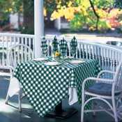 Check Point - Checkered Table Linen