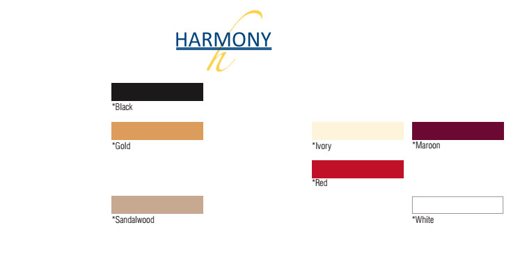 Harmony Table Cloth Colours