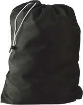 Economy Laundry Bags - Drawstring and Sliding Lock - 30x40