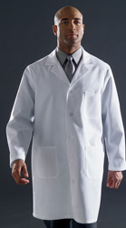 Unisex Lab Coats - White