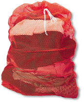 Mesh Bags - 24x30 - Drawstring - Sliding Lock - Name Tag