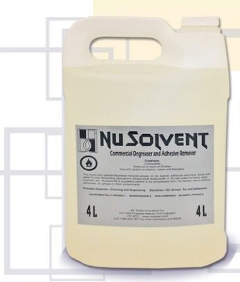 NuSolvent Natural Degreasing Solvent 4 Liter