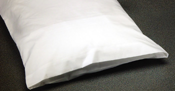 Pillow Protector - White 50/50 with Flap - Standard