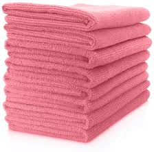 "Microfiber General Cleaning Cloth - 15x15"" - Pink"