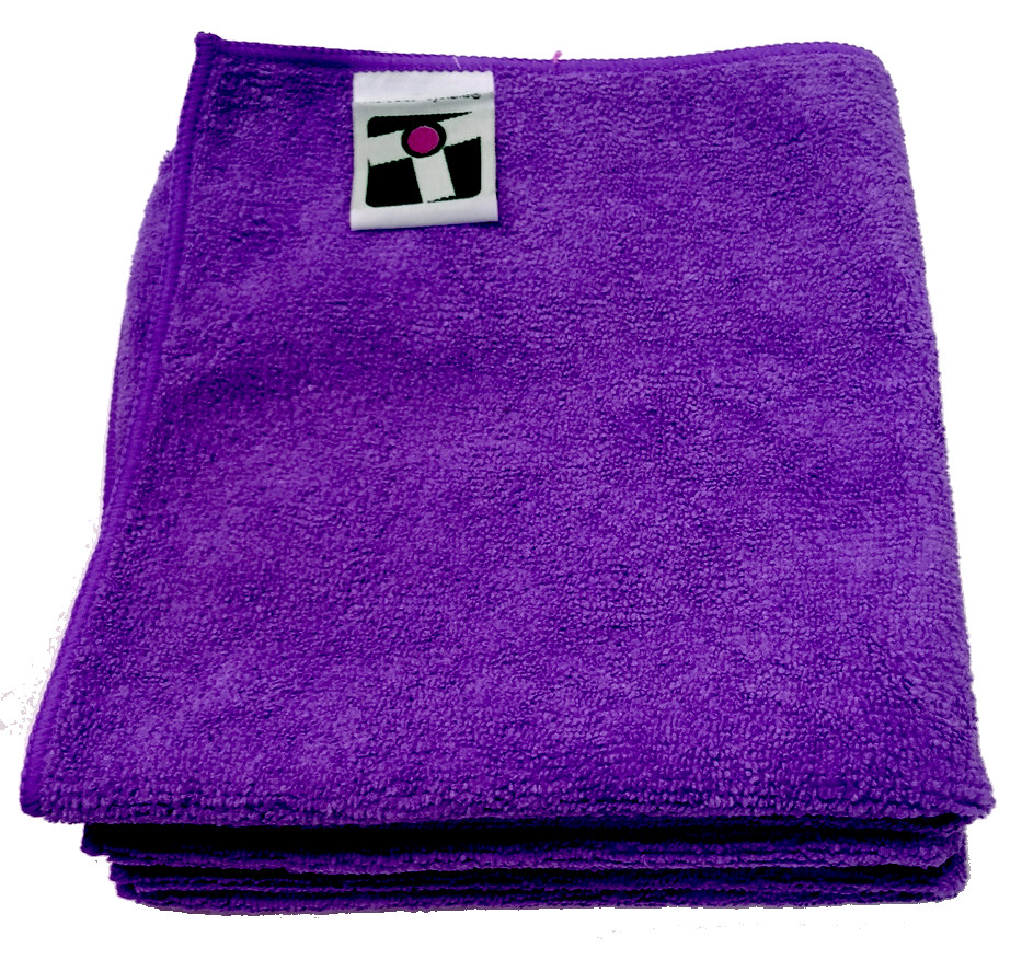 "Microfiber General Cleaning Cloth - 15x15"" - Purple"