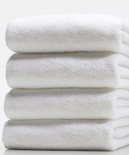 Rose Soft Bath Towel - 30x60 White