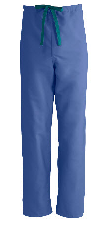 Clearance - Reversible Scrub Pants - Sapphire