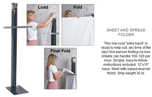 Extra Hand Folder - Bed Sheet and Spread Folding Unit