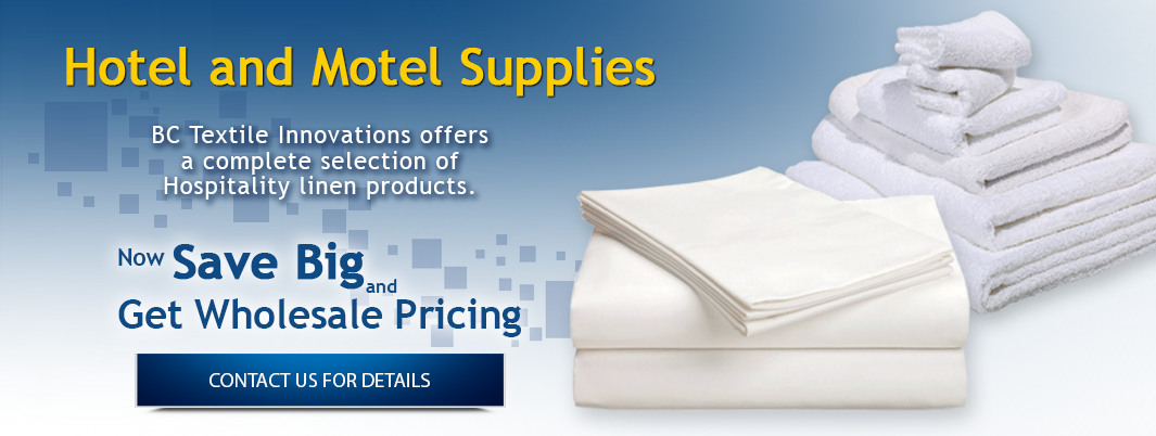 Hotel and Motel Linen