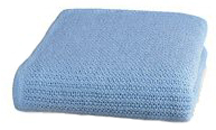 Thermal Blanket, Twin 66x90, Blue