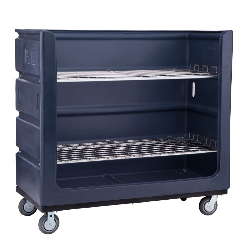 Plastic Linen Turnabout Truck - Low Rider - 48 Cubic Feet