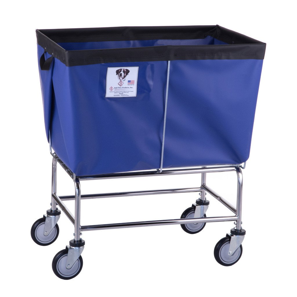 Elevated Vinyl Bushel Carts - 6 Bushel