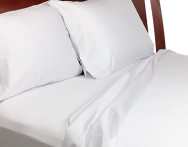 T250 - Eurocale Twin XL Fitted Sheets - 39x80x12 - White