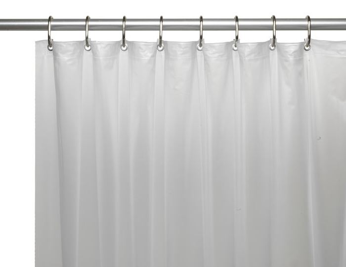 "Shower Curtain - Vinyl 72x72"" White"